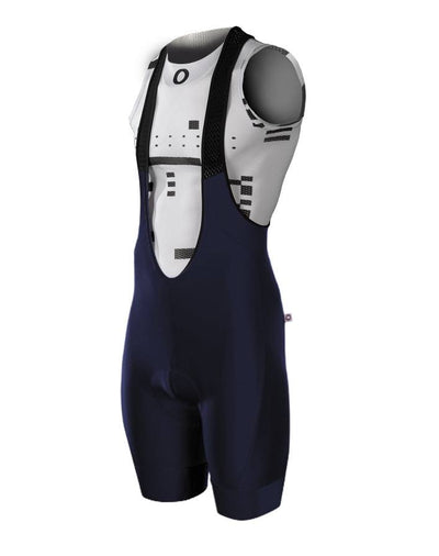 Pedla Mens Cycling Bibs & Shorts - Long Haul G2+ Bib | Navy