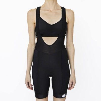 Two Circles Cycling Bibs - Womens Classic Bib Shorts