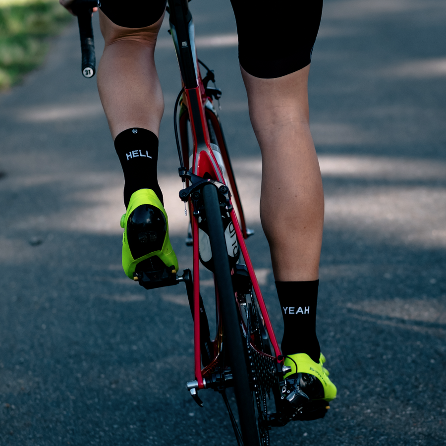 FingersCrossed Design Cycling Socks - Hell Yeah Socks