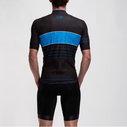 Fluid Jersey | Black & Blue