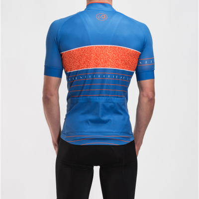 Fluid Jersey | Blue & Orange