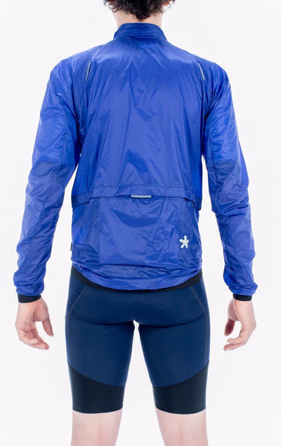 HUEZ Cycling Gilets & Jackets - Starman Wind Jacket | Klein Blue