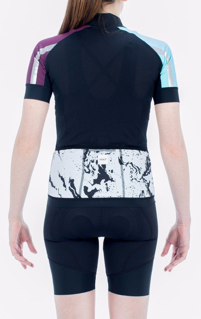 HUEZ Cycling Jerseys - Bia Jersey | Sky Blue