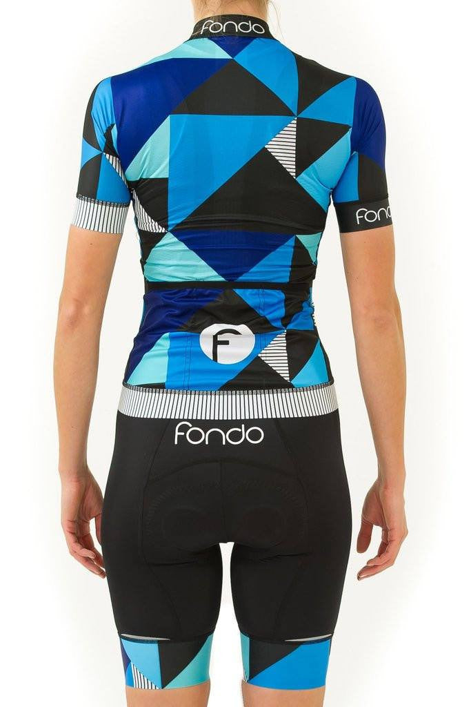 Fondo Cycling Jerseys - Cubism Cycling Kit
