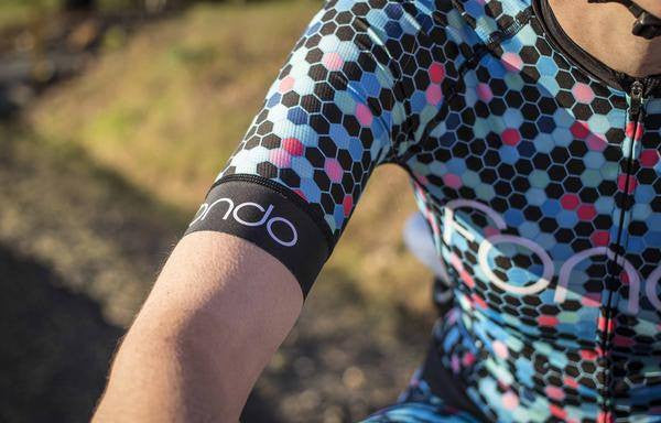 Fondo Cycling Jerseys - Honey Cycling Kit