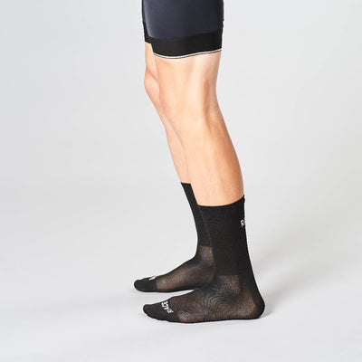 race day cycling socks black
