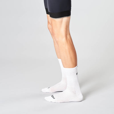 race day cycling socks white