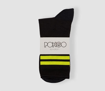 Pongo Cycling Socks - Merino | Yellow