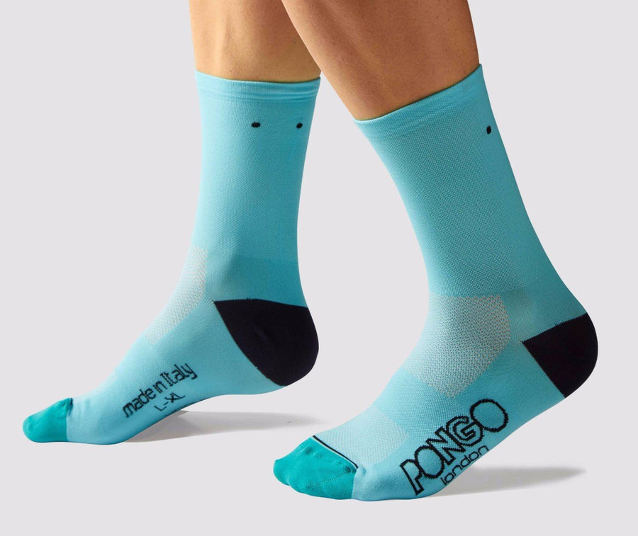 Pongo Cycling Socks - Pro Classic | Turquoise