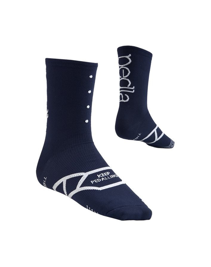 Pedal Cycling Socks - Spinners | Navy
