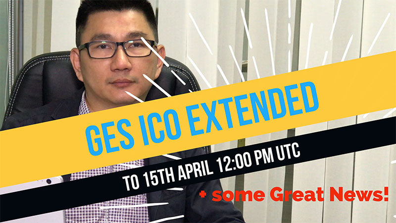 Announcement and updates: ICO extension and developments
