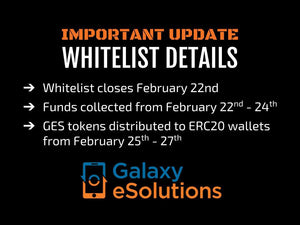 Whitelist closes 22nd FEB!