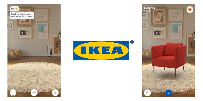 augmented reality apps ikea pleace iphone