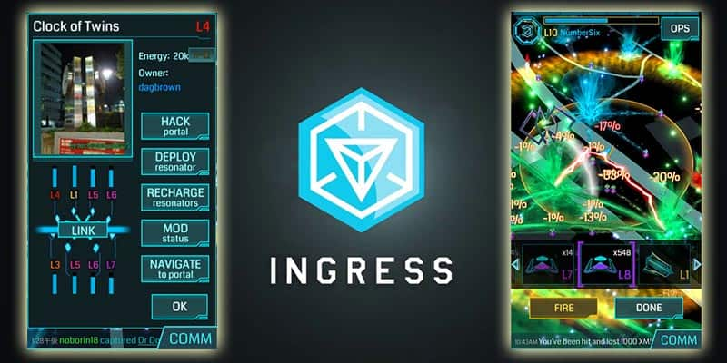 augmented reality apps ingress iphone