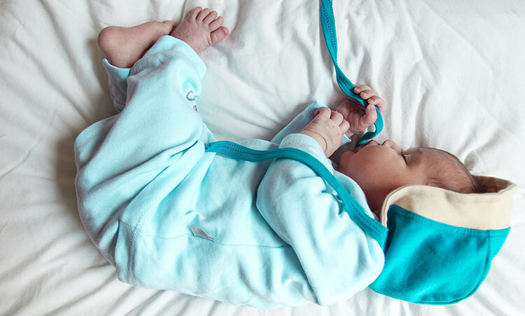 newborn winter home outfit