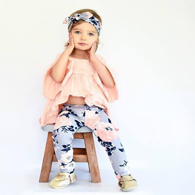 TODDLER Girls Denim Jumper /& Top Set PERSONALIZED FREE
