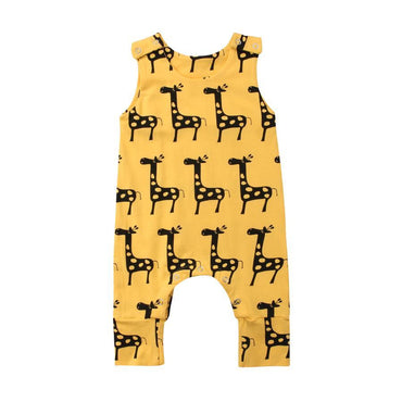 Giraffe Jumpsuit - The Trendy Toddlers