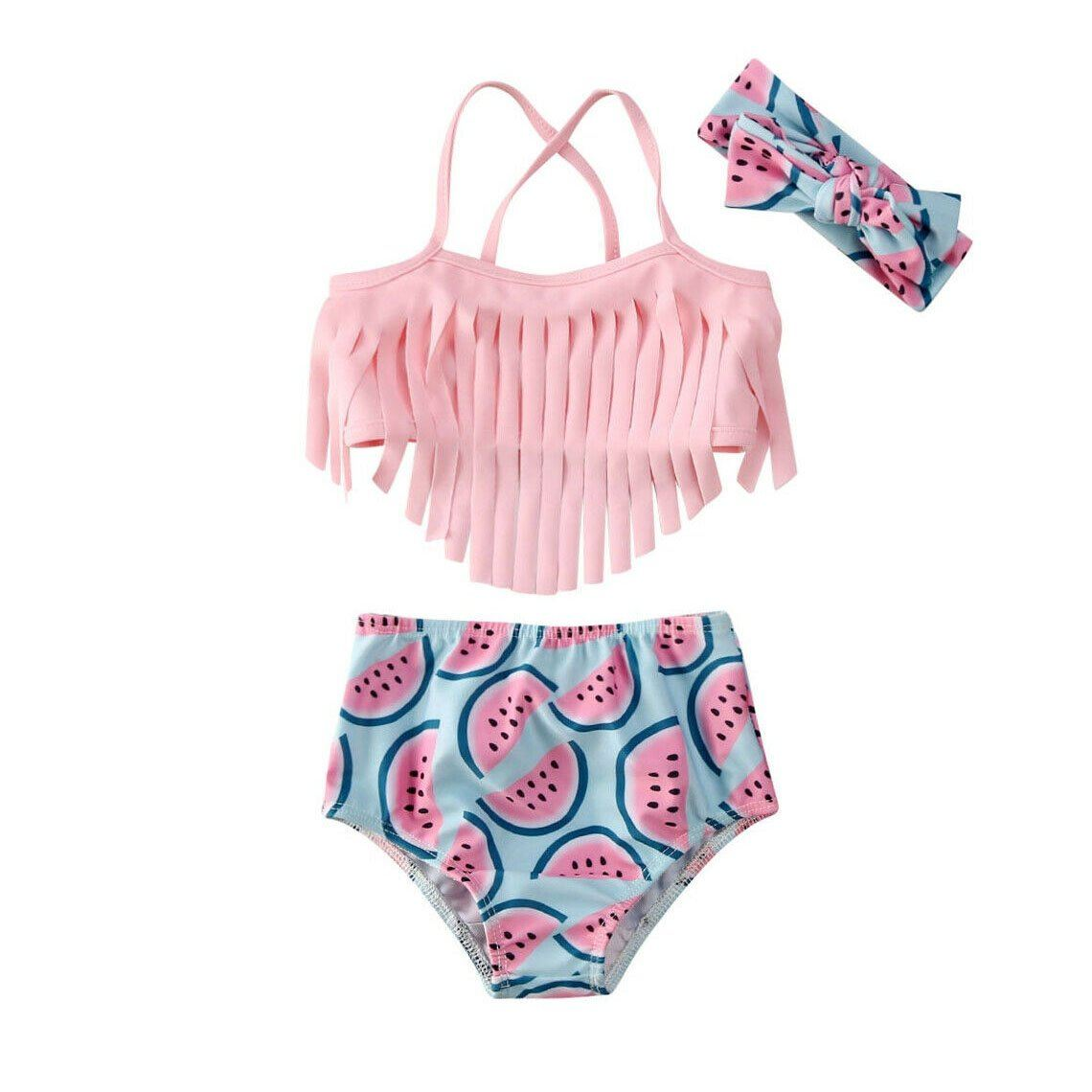 Watermelon Tassel Swimsuit