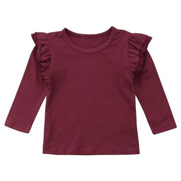 Basic Long Sleeve T-Shirt - The Trendy Toddlers