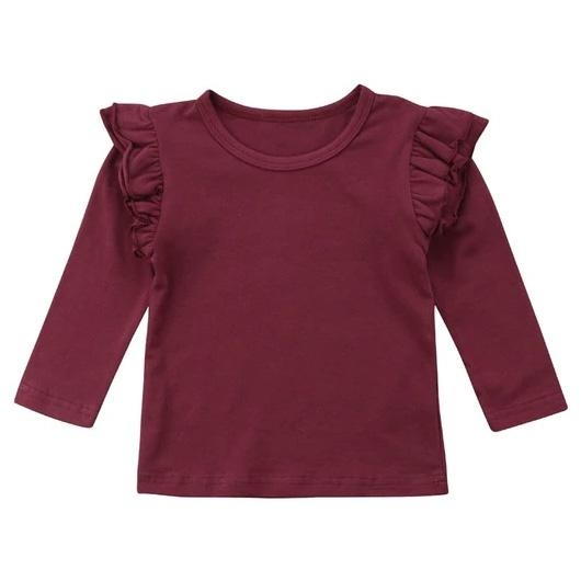 Basic Long Sleeve Top - The Trendy Toddlers