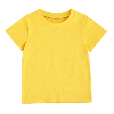 Yellow Solid Tee