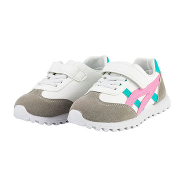 Pink Strap Sneakers