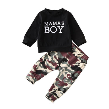Mama's Boy Camo Pants Set