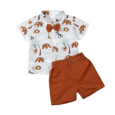 Wild Zoo Gentleman Set - The Trendy Toddlers