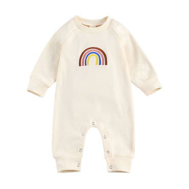 Rainbow Long Sleeve Jumpsuit