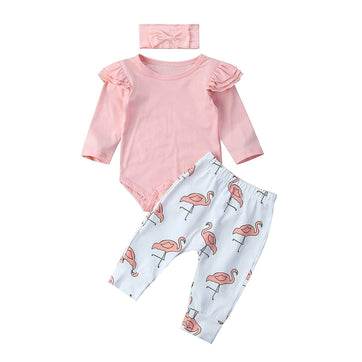 Flamingo Set - The Trendy Toddlers