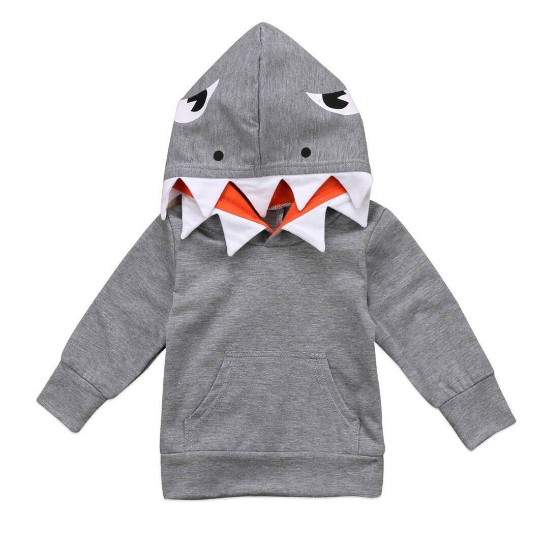 Shark Hoodie - The Trendy Toddlers