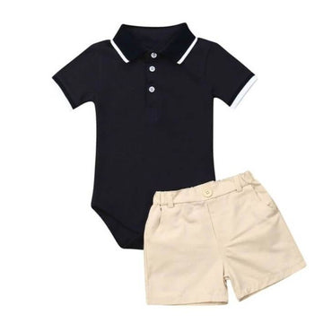 Black Collar Set - The Trendy Toddlers