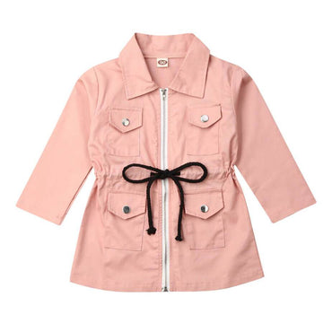Pink Zipped Jacket - The Trendy Toddlers