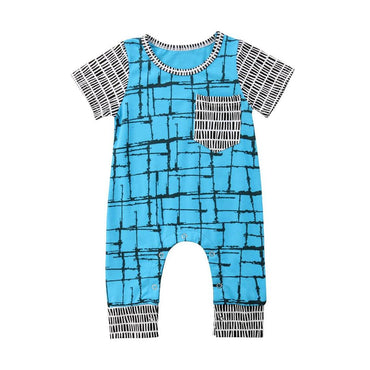 Geometric Jumpsuit - The Trendy Toddlers