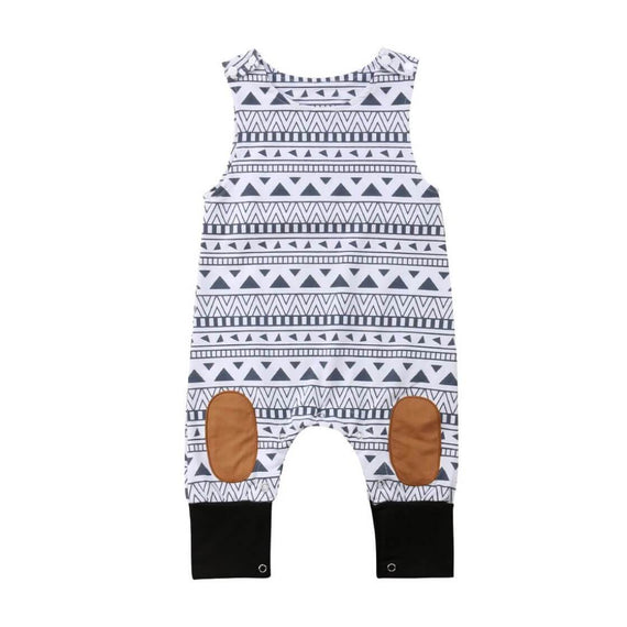 Aztec Jumpsuit - The Trendy Toddlers