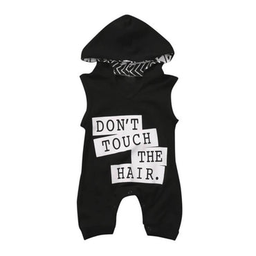 Don't Touch The Hair Jumpsuit - The Trendy Toddlers