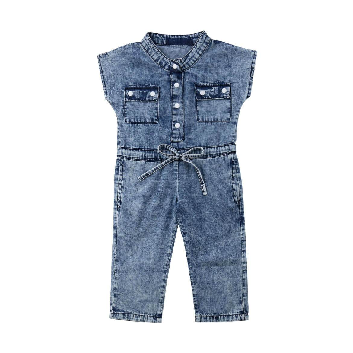 Denim Jumpsuit - The Trendy Toddlers