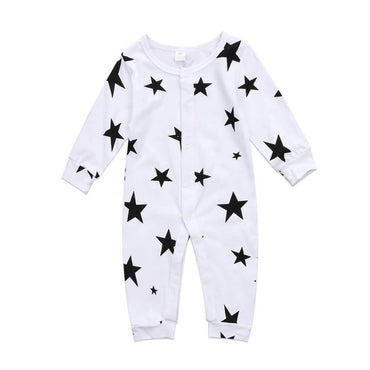 Long Sleeve Star Jumpsuit