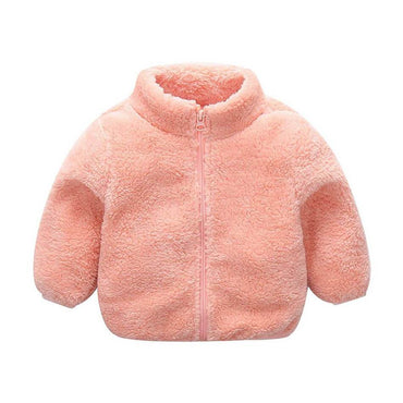 Zipper Wool Jacket