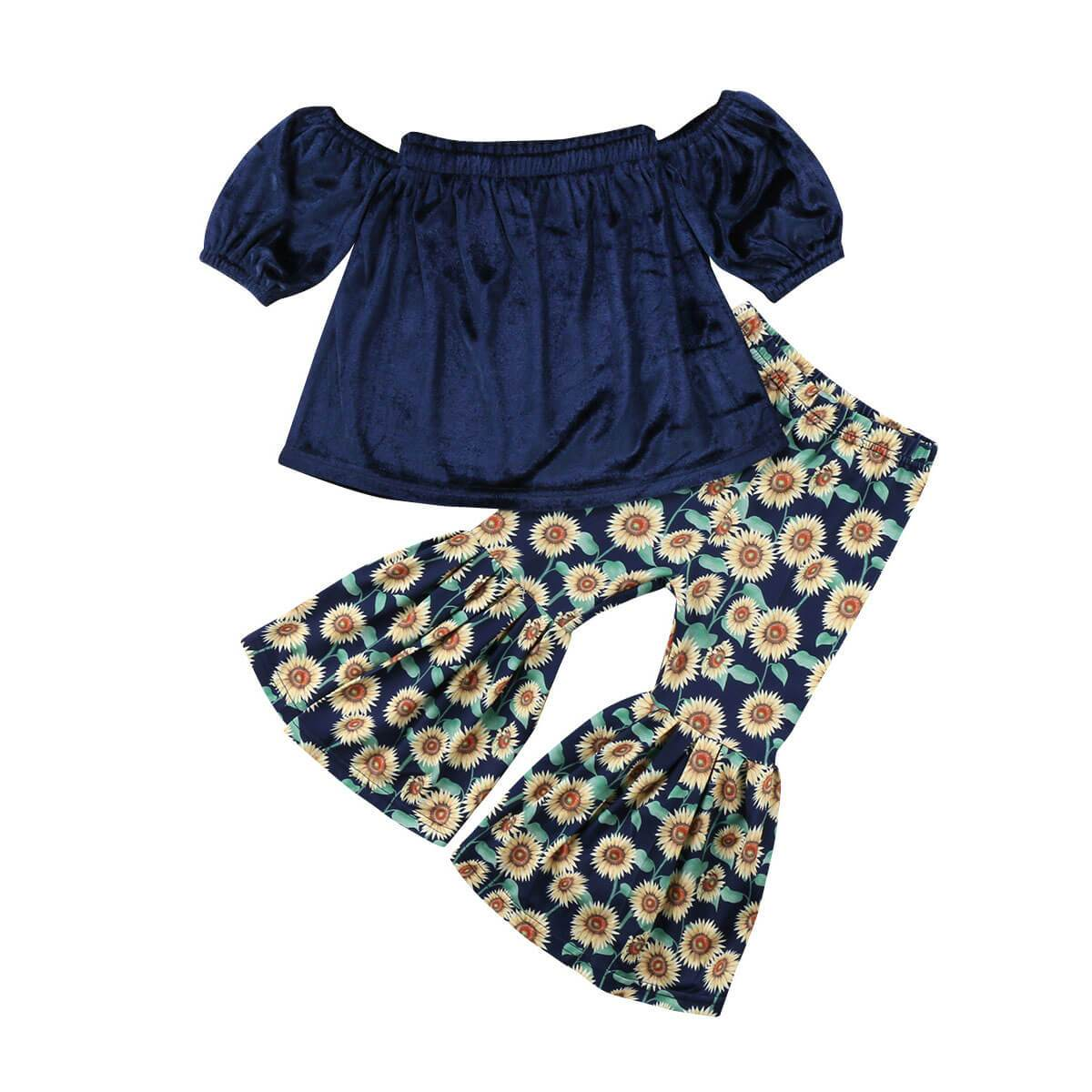 Floral Hippie Set - The Trendy Toddlers