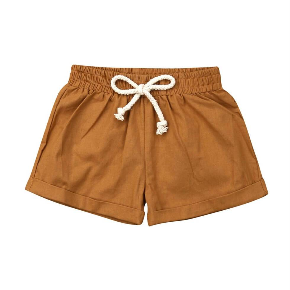 Linen Shorts - The Trendy Toddlers