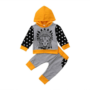 Lion King Hooded Set - The Trendy Toddlers