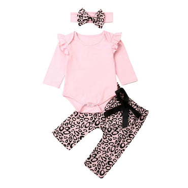 Pink Leopard Set - The Trendy Toddlers