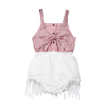 Boho Lace Romper - The Trendy Toddlers