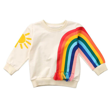 Rainbow and Sun Pullover - The Trendy Toddlers
