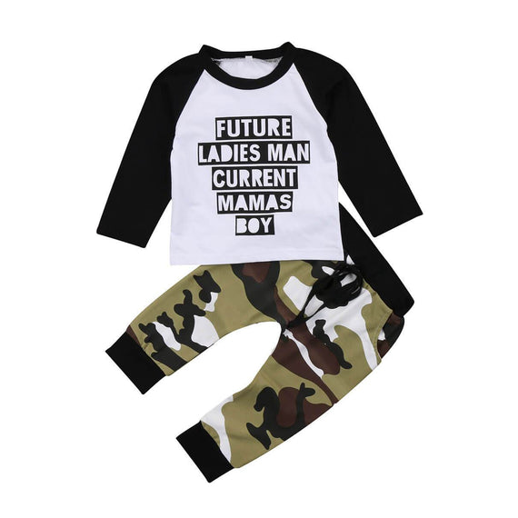 Future Ladies Man Set - The Trendy Toddlers