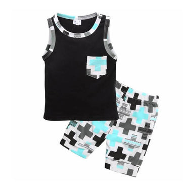 Geometric Summer Set - The Trendy Toddlers