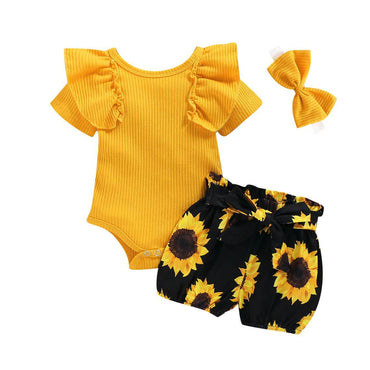 Sunflower Yellow Set