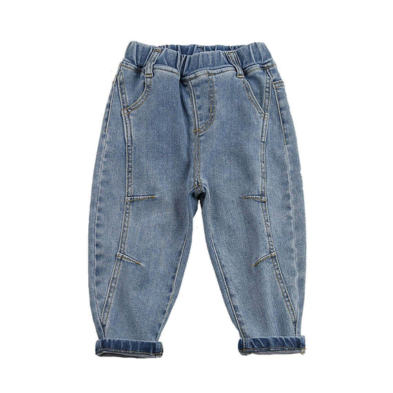 Retro Denim Pants