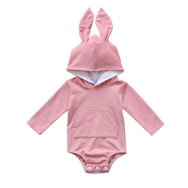 Pink Bunny Ears Jumpsuit